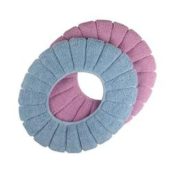 Cushioned Toilet Seat Cover Pads Bathroom Soft Fibers Thicke
