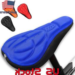 Cycling Cover Saddle Bicycle Pad Seat Bike Comfort Soft Cush
