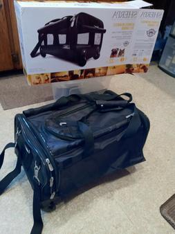 Sherpa Original Deluxe Large Black Pet Carrier & BONUS: Rick