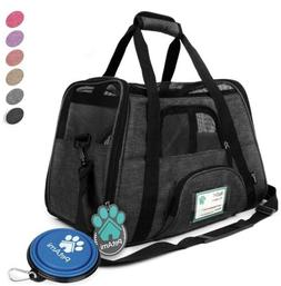 PetAmi Deluxe Pet Carrier Backpack for Small Cats and Dogs,