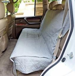 Deluxe Quilted and Padded Back Seat Bench cover - One size f