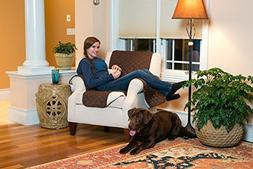 Deluxe Reversible Quilted Furniture Protector and PET PROTEC