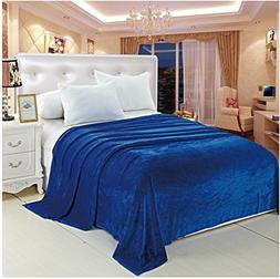 Deluxe Super Soft Luxurious Micro Plush Flannel Blanket - TW
