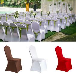 Dining Room Banquet Chair Cover Stretch Seat Slipcover Prote