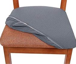 Stratissu Premium Dining Room Chair Seat Covers - Works for