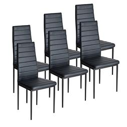 EBS Dining Room Chairs Kitchen Side Chairs with High Back Su