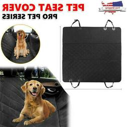 Dog Car Seat Cover for Cars/Trucks/SUV's. Waterproof Hammock
