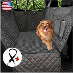 Vailge Dog Car Seat Covers, 100% Waterproof Scratch Proof No