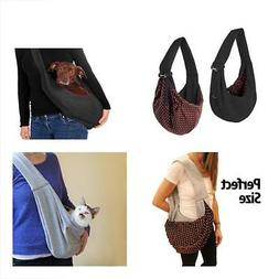 iPrimio Dog and Cat Hands Free Carrier Sling - Reversible Ca