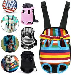 Dog Cat Nylon Pet Adjustable Puppy Carrier Backpack Front To