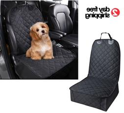Front Seat Cover Dog Hair Resistant Proof Pet Protection Car