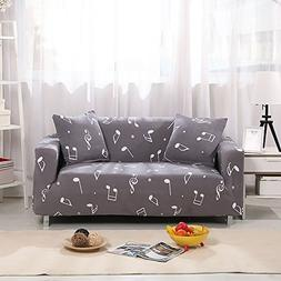 KateBastB Elastic Anti Wrinkle Couch Covers,Stylish Sofa Sli