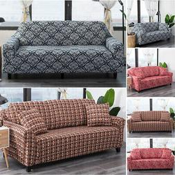 Elastic Cotton Sofa Cover Slipcover Stretch Couch Furniture