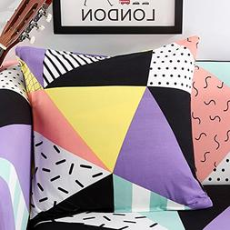 Elastic Square Throw Pillow Case Decorative Cushion Cover Pi