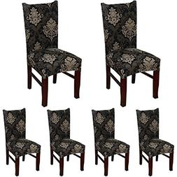 ColorBird European Style Spandex Fabric Chair Slipcovers Rem