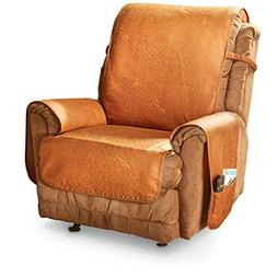 Innovative Textile Solutions Faux Leather Recliner with Memo