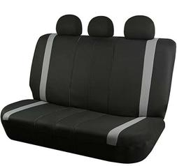 FH Group FB033GRAY013 Bench Seat Cover Supreme Modernistic S
