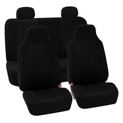 FH Group FB102BLACK114 Black 3D Air mesh Auto Seat Cover