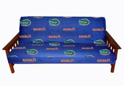 College Covers Florida Gators Futon Cover - Full size fits 6