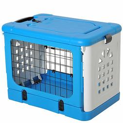Fold Cat Cage Small Animal Travel Carrier Ventilation Hole w