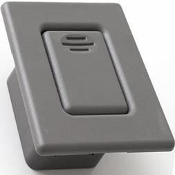 folding seat back latch for select gm