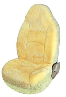 Leader Accessories Front Car Seat Cover Bucket Genuine Sheep