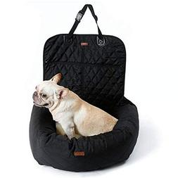 V.JUST Funtional Pet Booster Bed Deluxe Dog Pet Car Seat Cov