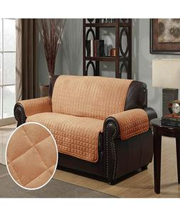 Furniture Protector Pet Cover Quilted Microsuede Loveseat 88