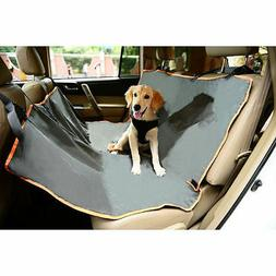 Iconic Pet Furrygo Hammock Car Cover, Dark Grey