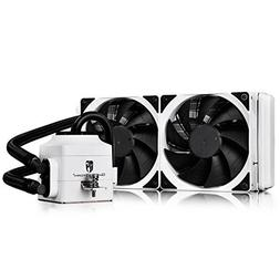 DEEPCOOL Gamer Storm CAPTAIN 240EX WHITE CPU Liquid Cooler A