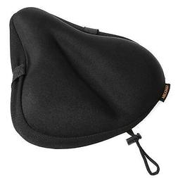 Gel Bike Seat Cover, Universal Padded Cushion For Exercise,