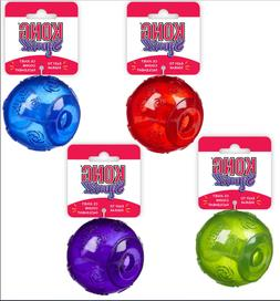 Genuine Kong Squeezz Ball Dog Toy - Choose Color & Size - Fr