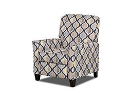 Klaussner Grady High Leg Reclining Chair, Multi-color Print
