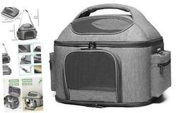 halinfer Soft Cat Carrier for Large Cats, Cat Travel Litter