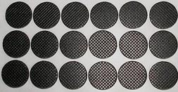 """Heavy Duty 1.5""""  Round, 4/25"""" Thick Non-slip Rubber Industry"""