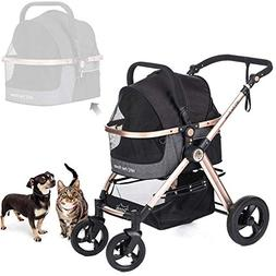HPZ Pet Rover Prime 3-in-1 Luxury Dog/Cat/Pet Stroller  with
