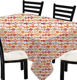 Indian Printed Tablecloth Square for Birthday -100% Cotton F
