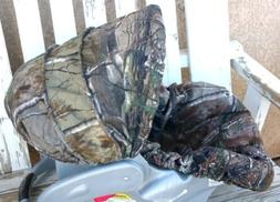 infant car seat cover and hood cover Realtree camo