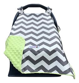 Carseat Canopy Cover | Doubles as a Convenient Breastfeeding