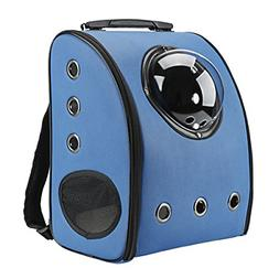 Texsens Innovative Traveler Bubble Backpack Pet Carriers for