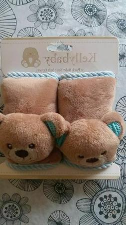 Kellybaby 2 Pack Baby Seatbelt Cover Blue Bear
