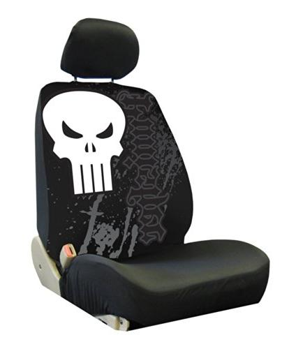 006935r01 marvel punisher low back bucket seat
