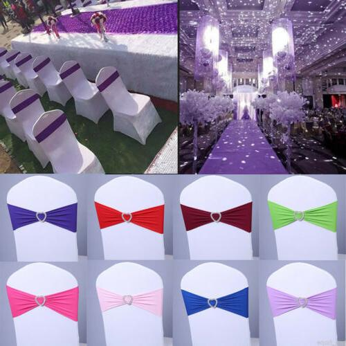 100 Chair Covers Stretch Spandex Party Decor