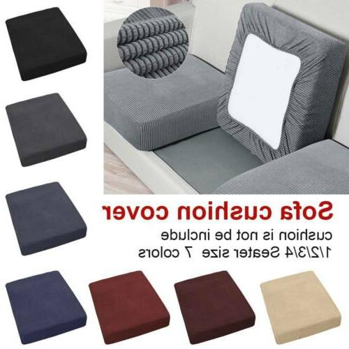 124 Seats Waterproof Stretchy Sofa Seat Cushion Cover Couch