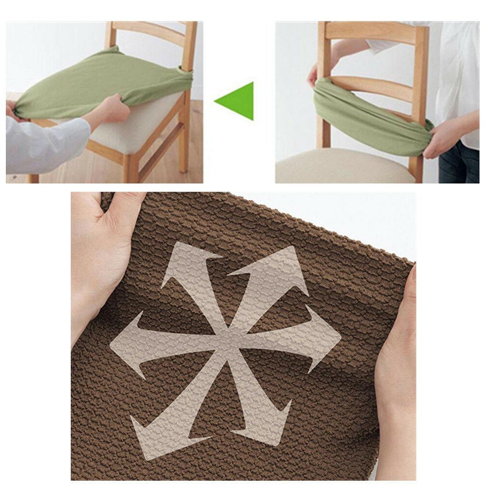 2PCS Covers Stretch Cover Dining