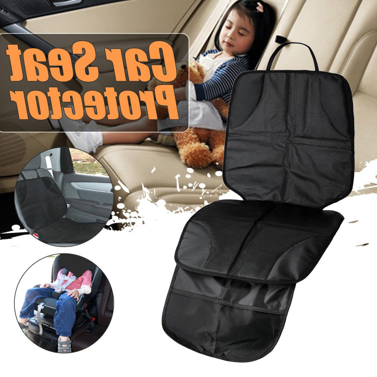 2Pcs Infant Baby Kids Universal Car Seat Cover Cushion Non-s