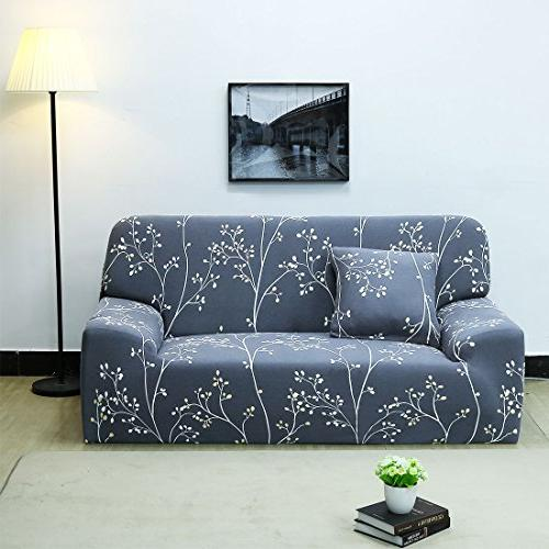 uxcell 2 3 4 Seater Sofa Slipcovers Polyester Fabric Featuring Soft Couch Covers