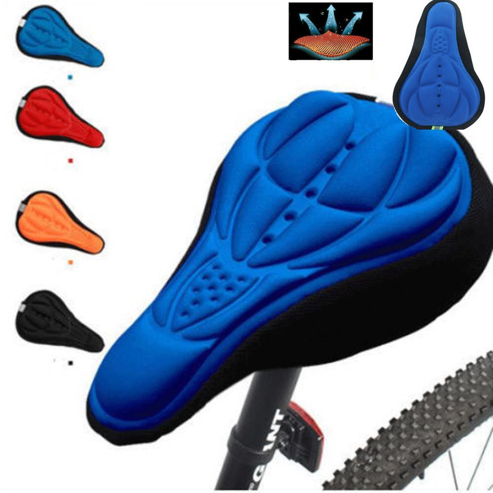 3D Silicone Gel Saddle Cushion Gel Mountain Bicycle Road Seat Cover