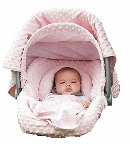 Carseat Canopy 5 Pc Whole Caboodle  Baby Infant Car Seat Cov