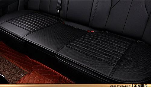 EDEALYN 53 × 19.5 inches PU Leatherette Long Rear Seat Auto